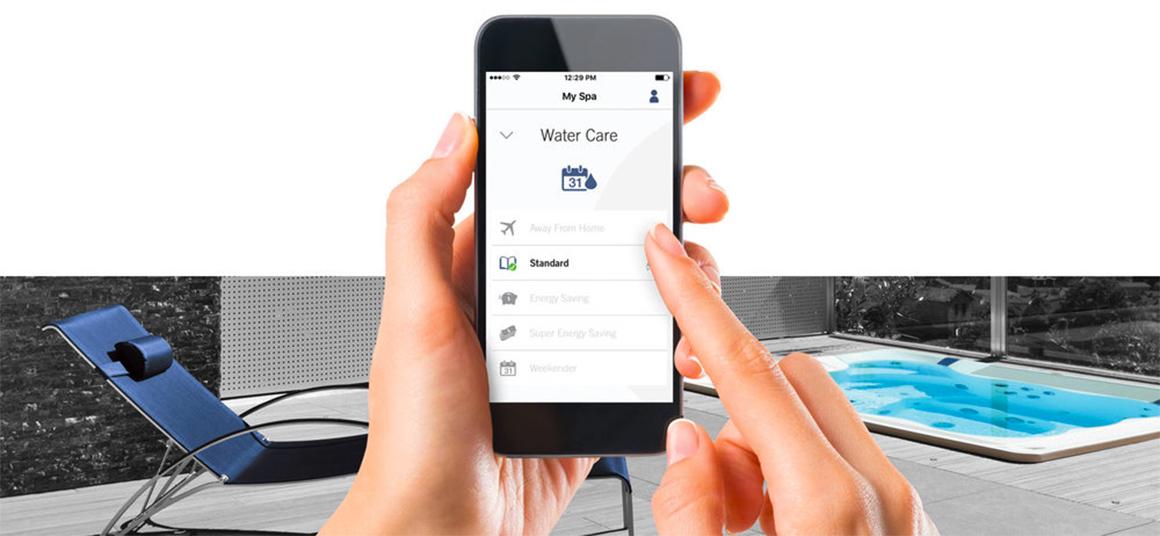 Управление джакузи Wellis со смартфона