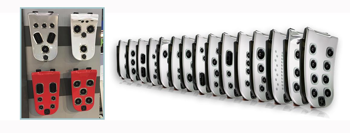16 модулей JetPak™ Villeroy & Boch