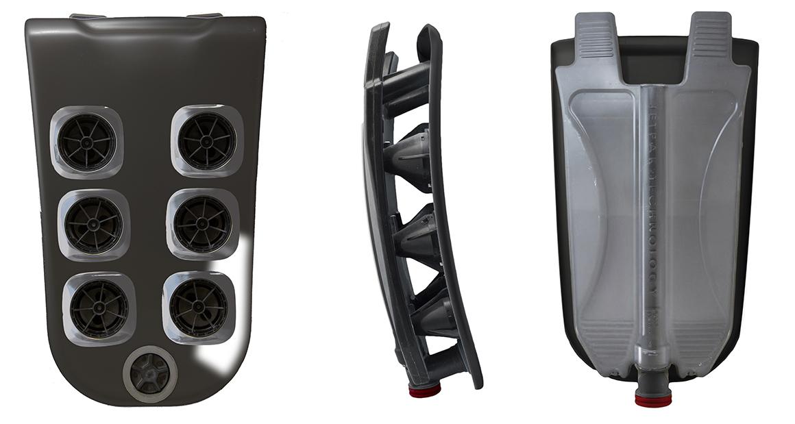 Конструкция съемных модулей JetPak™
