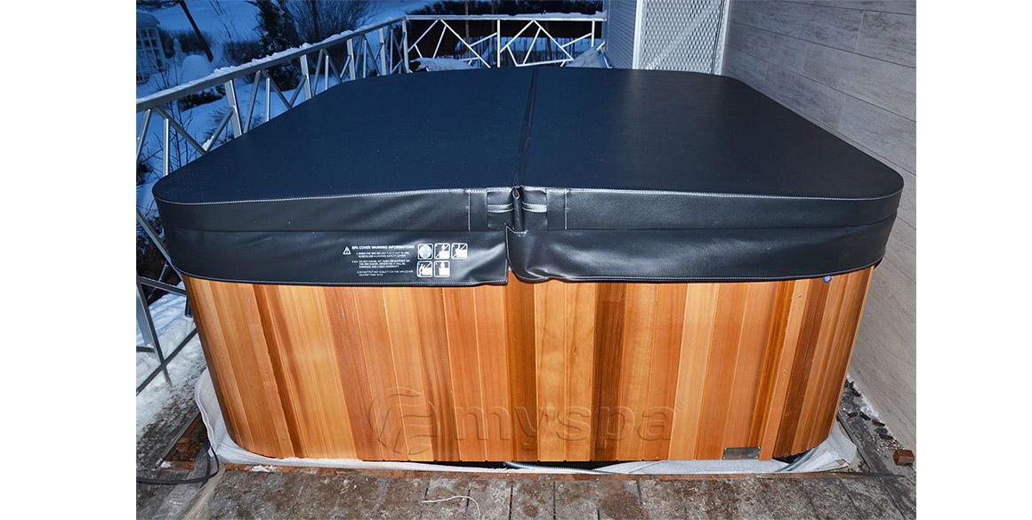 СПА-бассейн Wellis с термокрышкой
