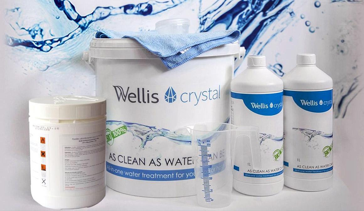 Специализированная химия для СПА-бассейна Wellis