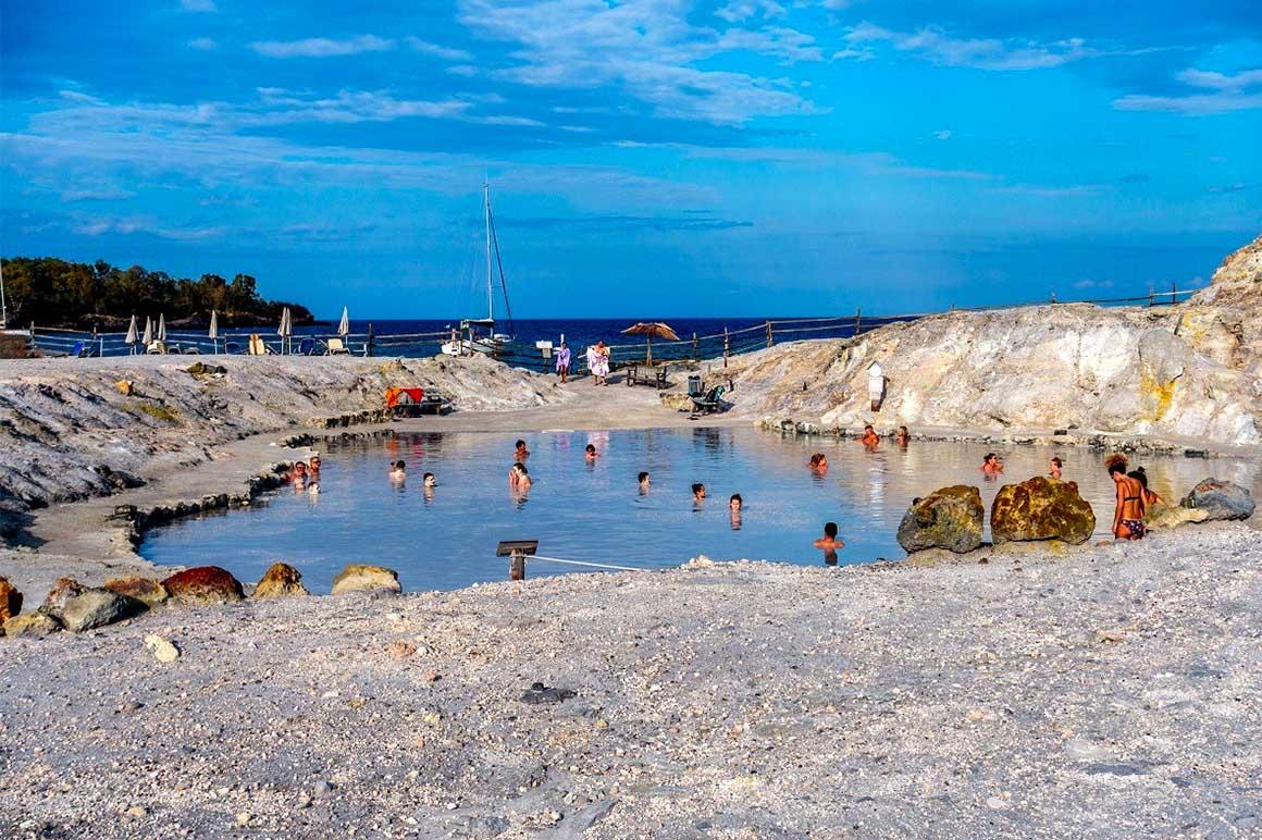 Остров Вулкано, Италия