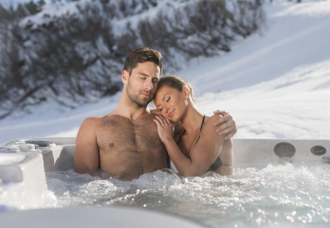 Использование СПА-бассейна Wellis зимой