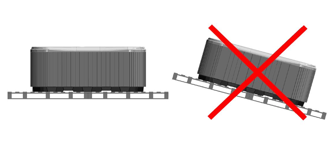 Правильное размещение СПА-бассейна