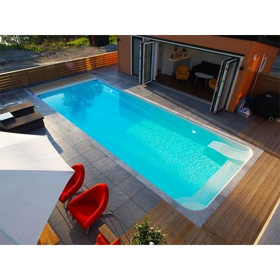 Композитный бассейн Sky Mirror Marina - 6,0 x 3,2 x 1,6 м