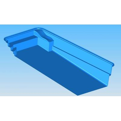 Композитный бассейн Sky Mirror Marina - 7,0 x 3,4 x 1,7 м