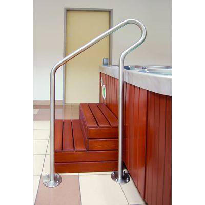 Поручень напольный Wellis Floor mount handrail