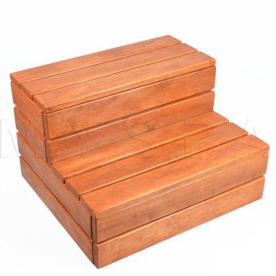 Деревянные ступени Wellis «Satin teak»