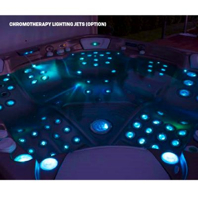 Гидрофорсунки с подсветкой Lighting jets Wellis (50-100 форсунок)