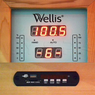 Инфракрасная сауна Wellis Helios
