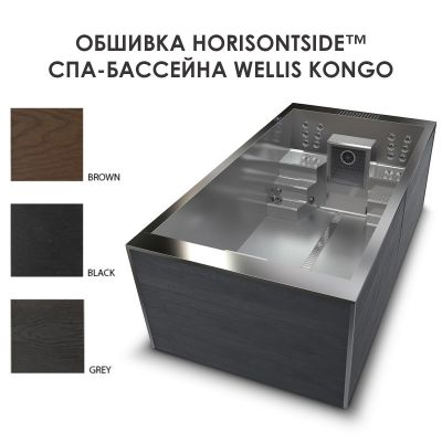 СПА-бассейн Wellis Kongo