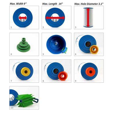 Система очистки фильтр-картриджа для СПА-бассейна Myspa
